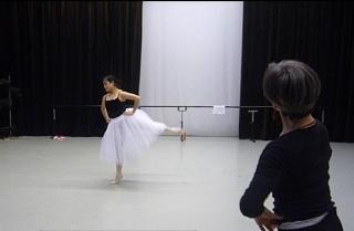 One of my last ballet classes in University. La Fille solo, with my teacher Jennifer Jackson.