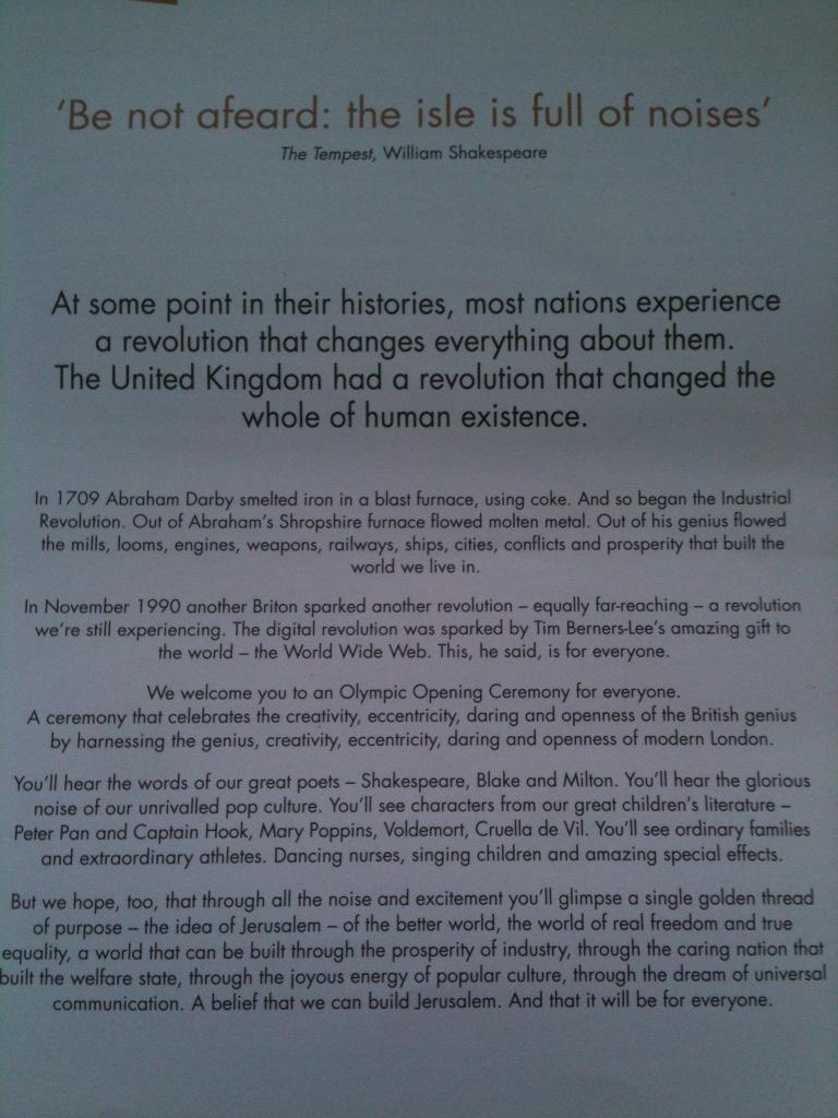 Danny Boyle OOC Text